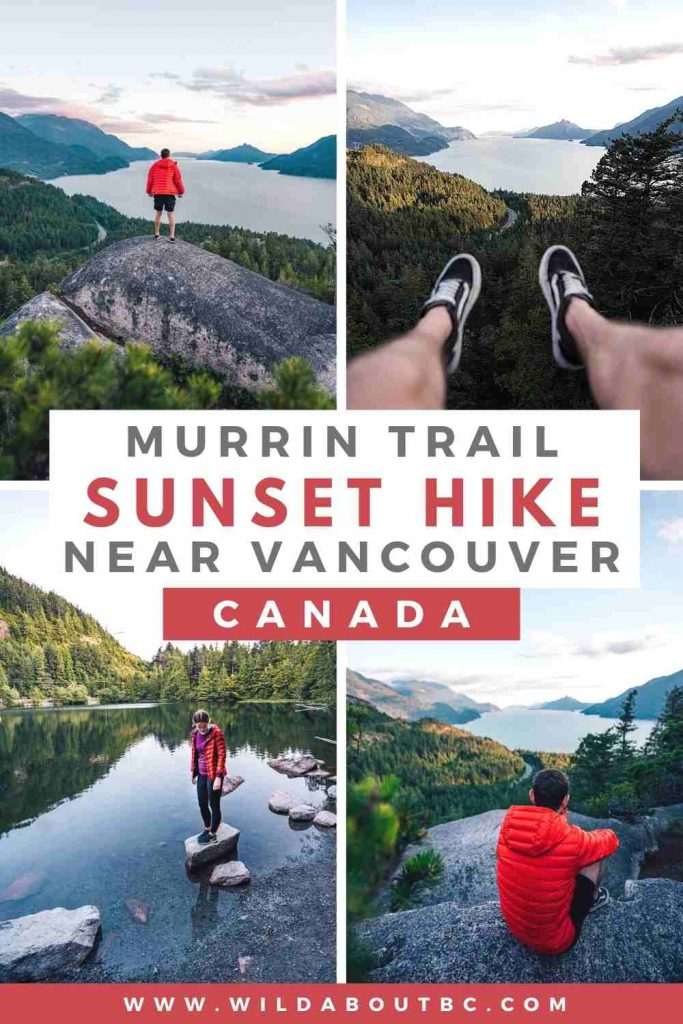 Murrin Loop Trail | The Murrin Park Loop Trail leading to Quercus viewpoint is an awesome short hike near Squamish with epic views of Howe Sound and the Sea to Sky highway!