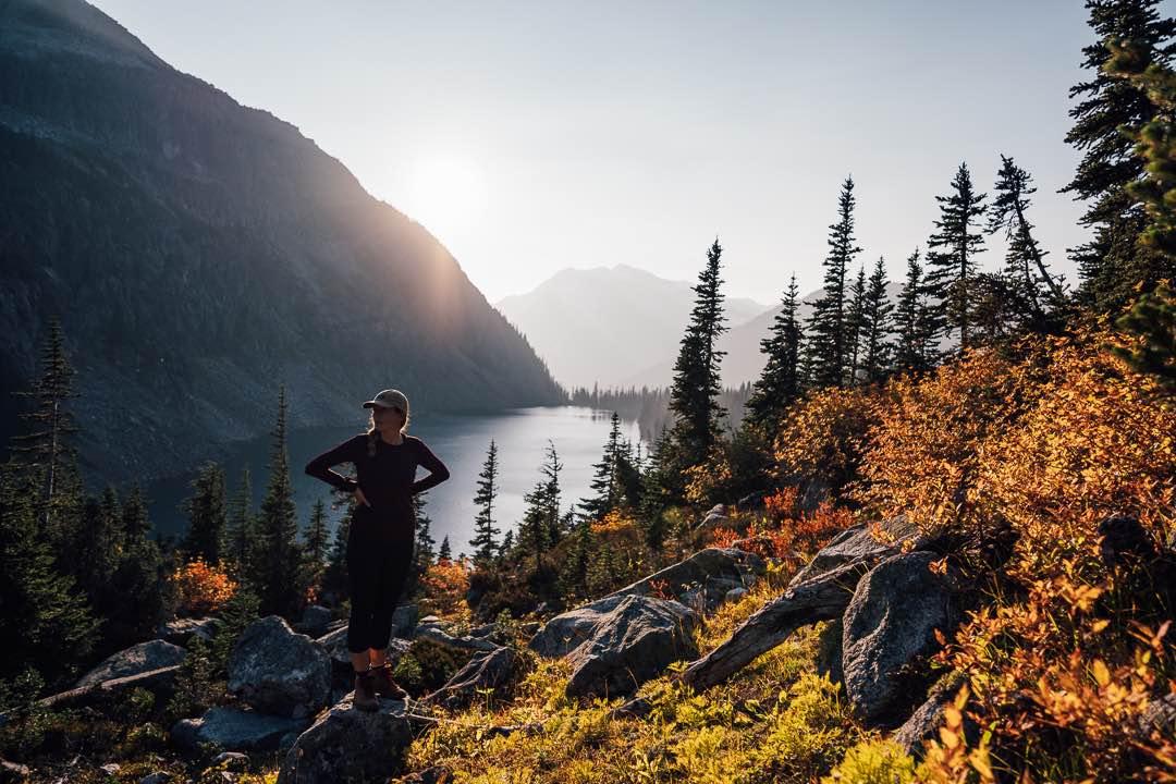 Rohr Lake Hike, Pemberton