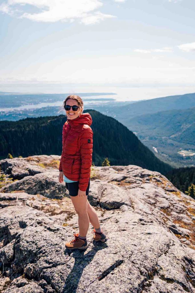 First Peak at Seymour Mountain
