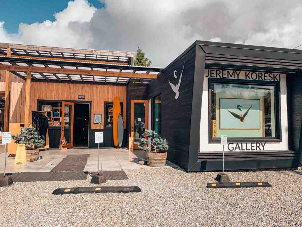 Shopping in Tofino - Jeremy Koreski Gallery