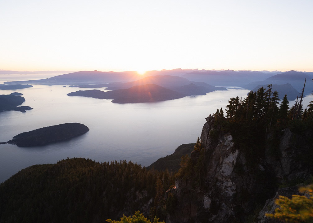 St Marks Summit Hike, Vancouver