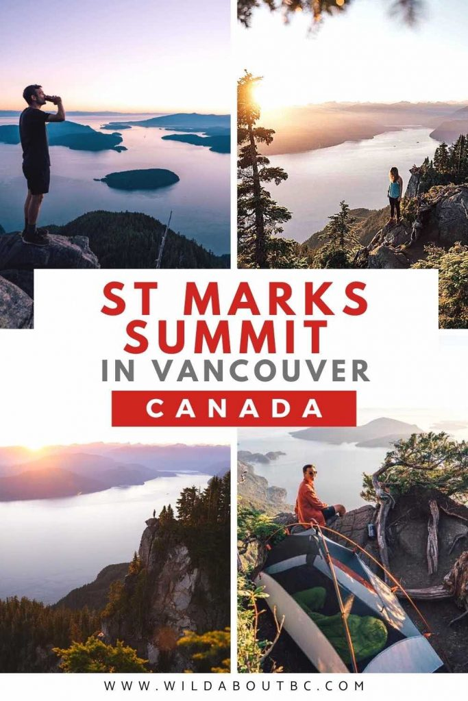 St Marks Summit Trail in Vancouver