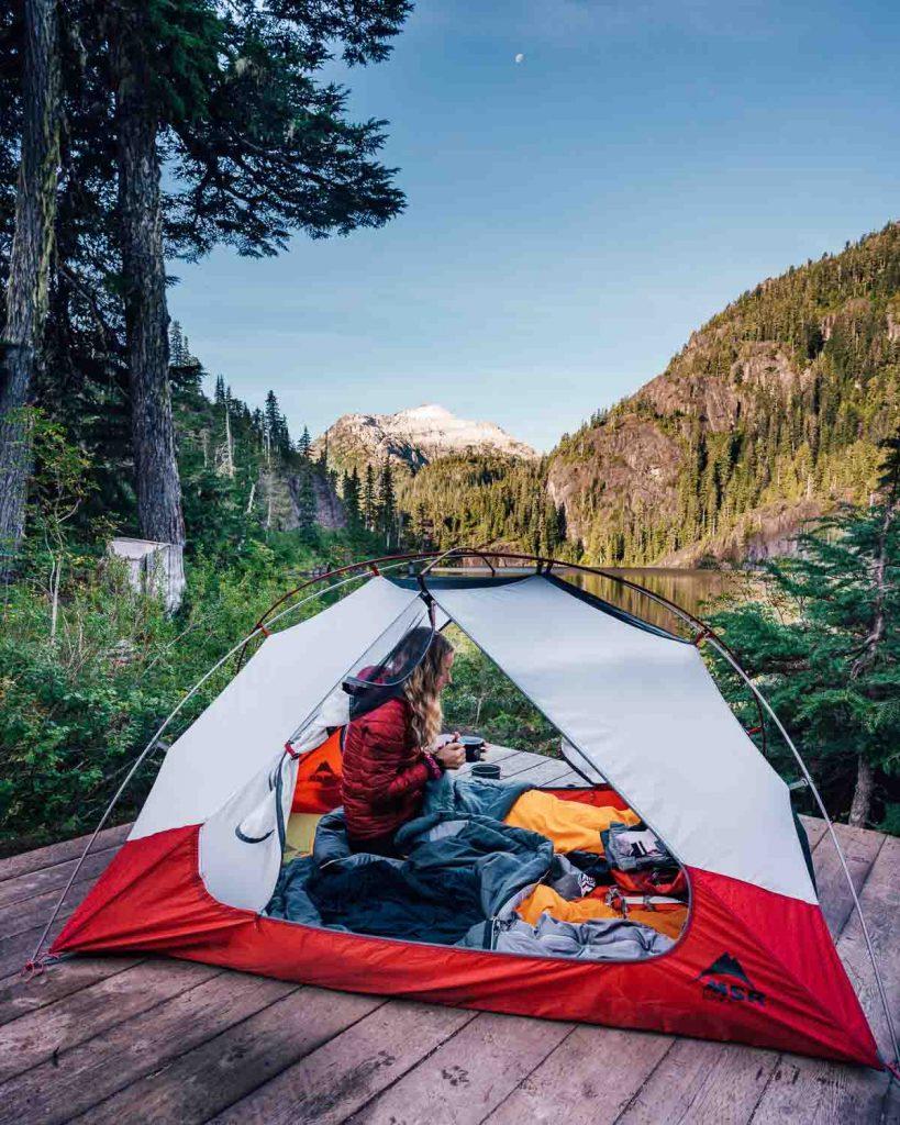 Bedwell Lake Camping