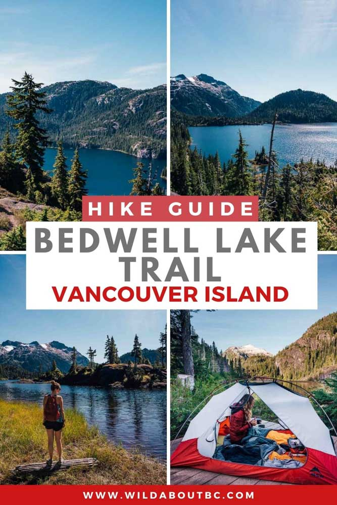 Bedwell Lake Hike | Planning to hike the Bedwell Lake Trail on Vancouver Island? Follow our guide to learn all about this hike as well as all the details for Bedwell Lake camping in Strathcona Park!