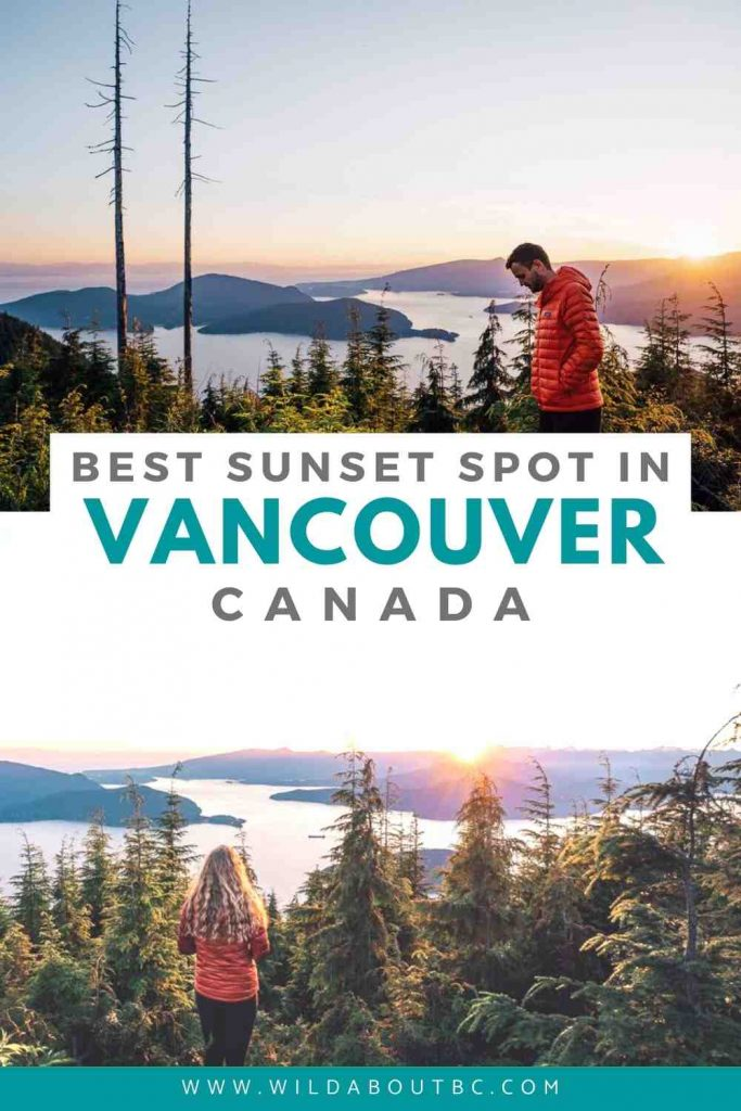 Bowen Lookout, Vancouver Canada | The trail to Bowen Lookout at Cypress Mountain offers one of the best views in Vancouver. Read our guide to find out everything you need to know!