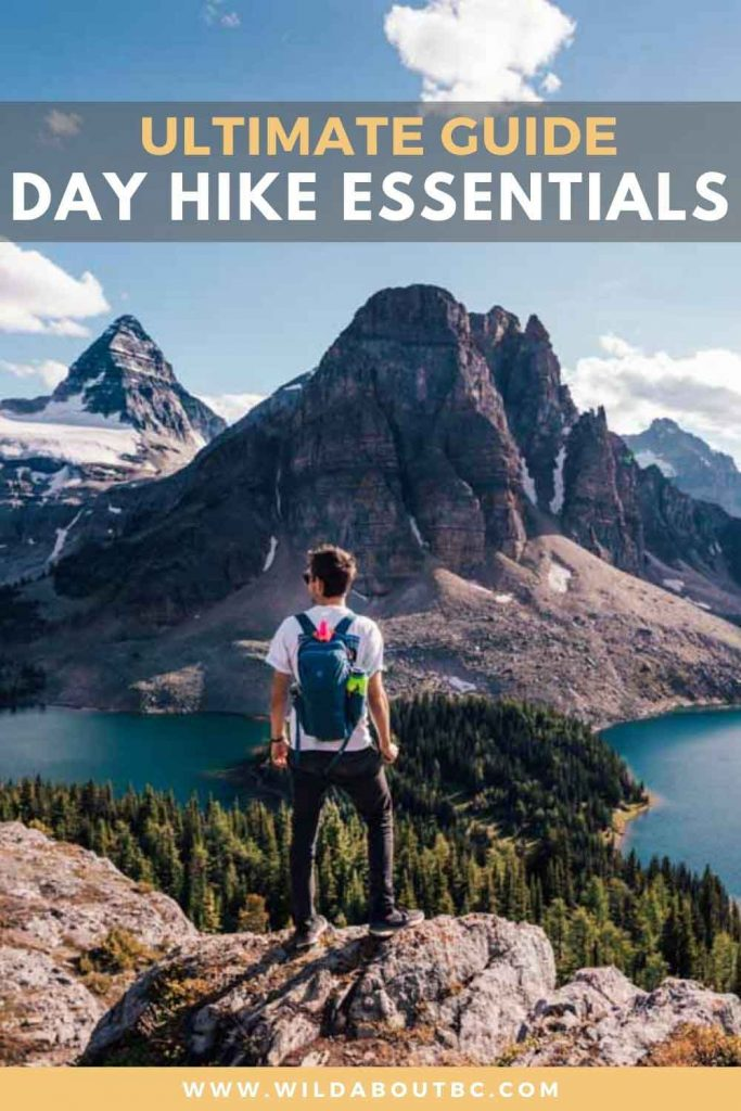 DAY HIKE PACKING LIST | Wild About BC | Use our ultimate day hike packing list to ensure you have all the day hike essentials in your bag when exploring your local trails!