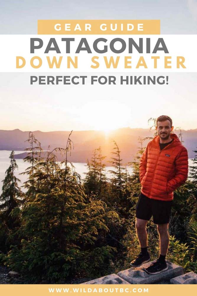 Check out our Patagonia Down Sweater Hoody Review to see if this Patagonia packable down jacket lives up to the hype!