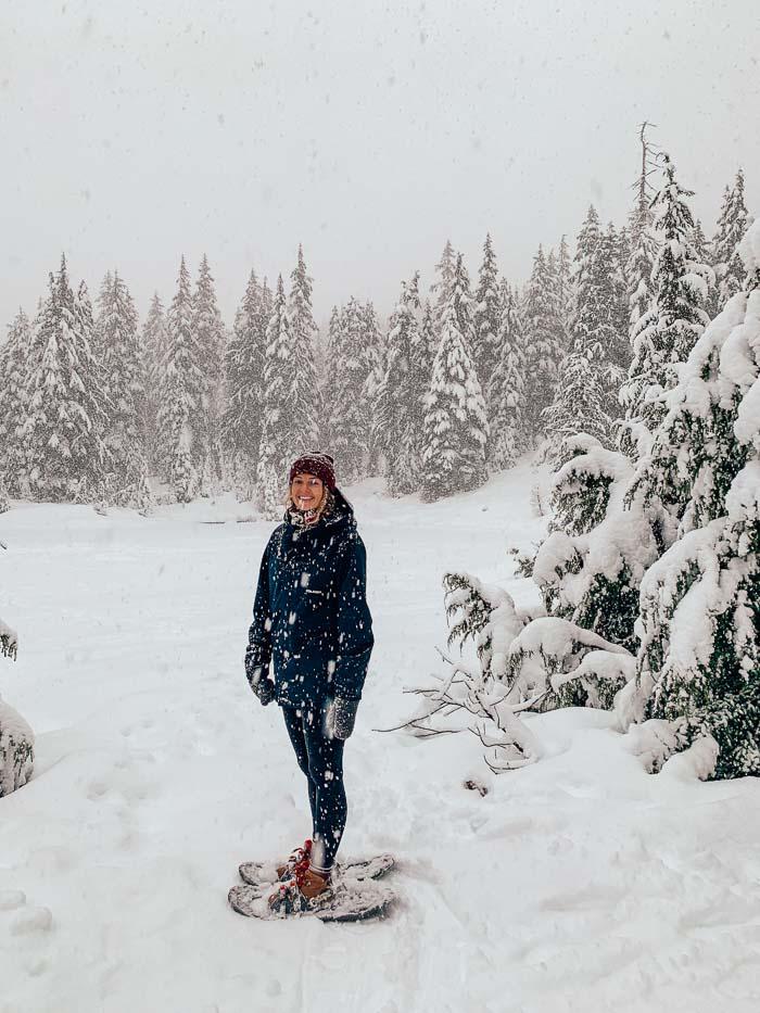 Black Mountain Snowshoe