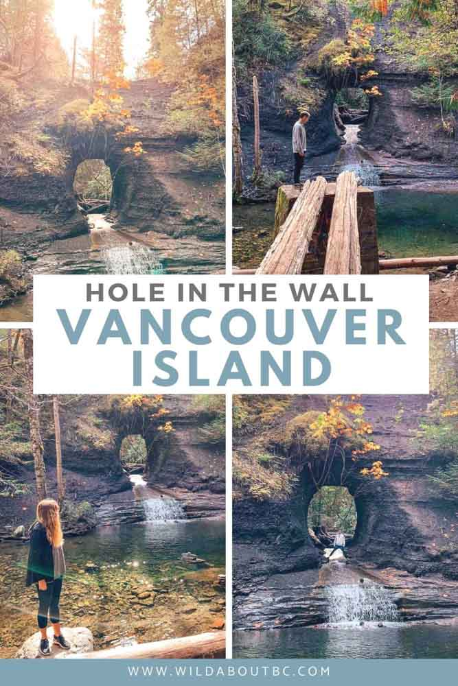 Hole in the Wall | One of the hidden gems on Vancouver Island.