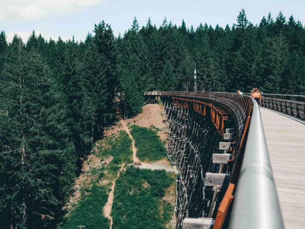 Kinsol Trestle along the Cowichan Valley Trail