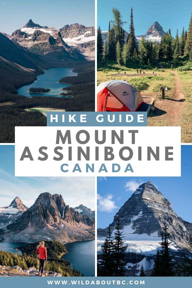 Find out why Hiking Mount Assiniboine is the most epic backcountry adventure in Canada! Your complete guide for a Mount Assiniboine hike.