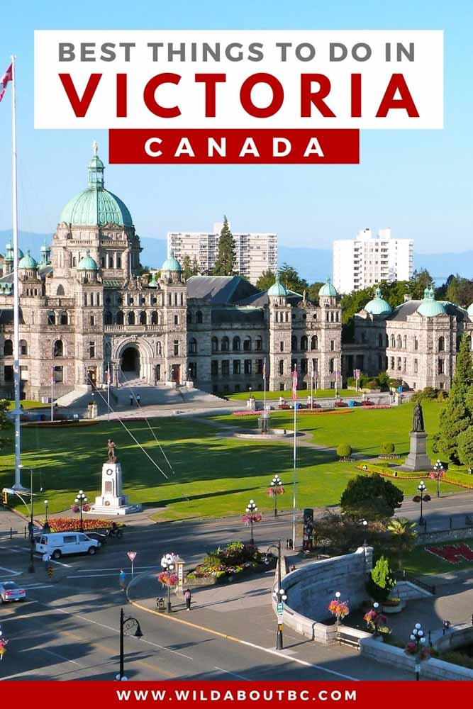 Discover all of the best things to do in Victoria BC. This beautiful coastal town is full of fun activities, delicious food and so much more!