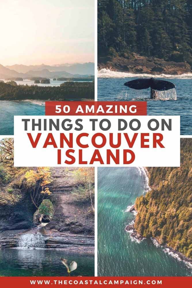 This list includes 50 of the best things to do on Vancouver Island. Discover all the incredible activities Vancouver Island has to offer!
