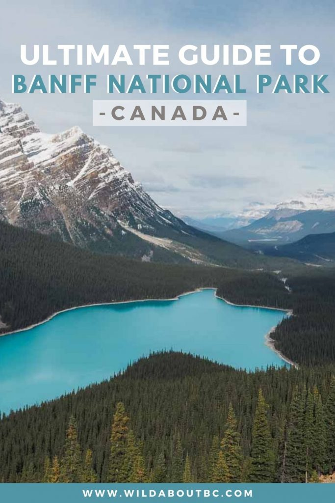 4 Day Banff Itinerary | Planning a trip to Banff National Park? Check out our 4 day Banff itinerary to discover some epic adventures in the Canadian Rockies!