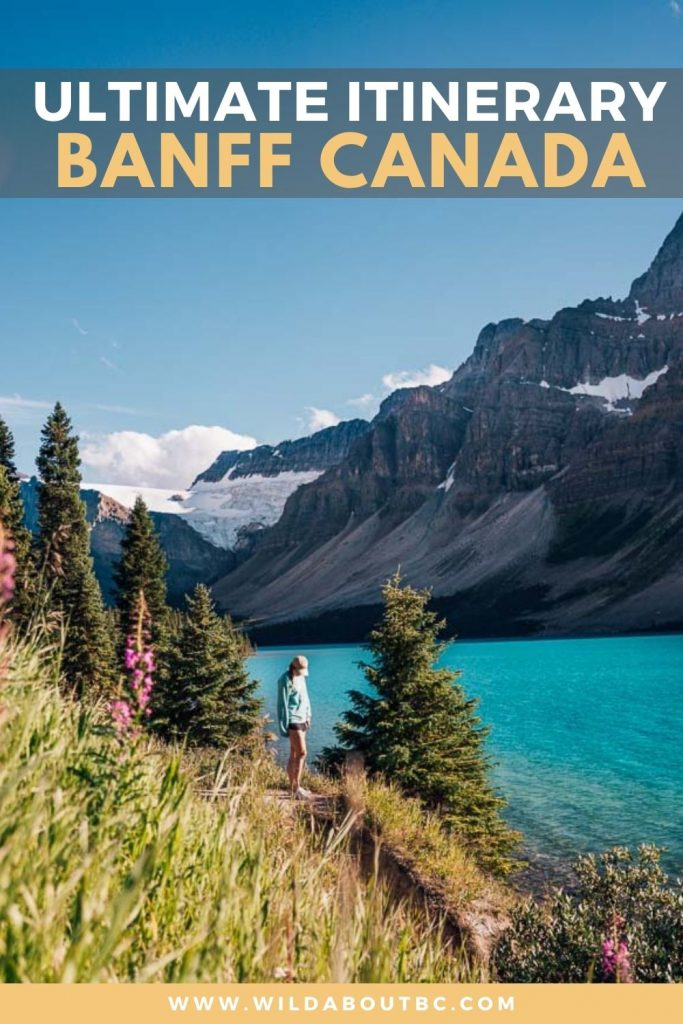 Banff Itinerary | Planning a trip to Banff National Park? Check out our 4 day Banff itinerary to discover some epic adventures in the Canadian Rockies!