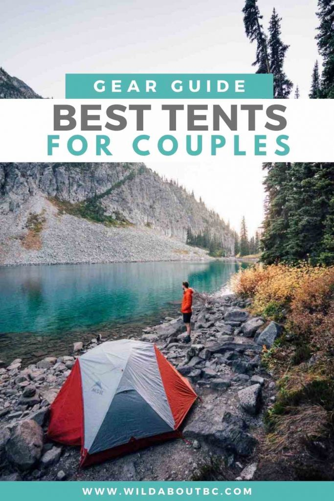 Best Tents for Couples | Are you looking for the best tent for couples? Check out our guide to find out some of the best 2 person tents for camping!