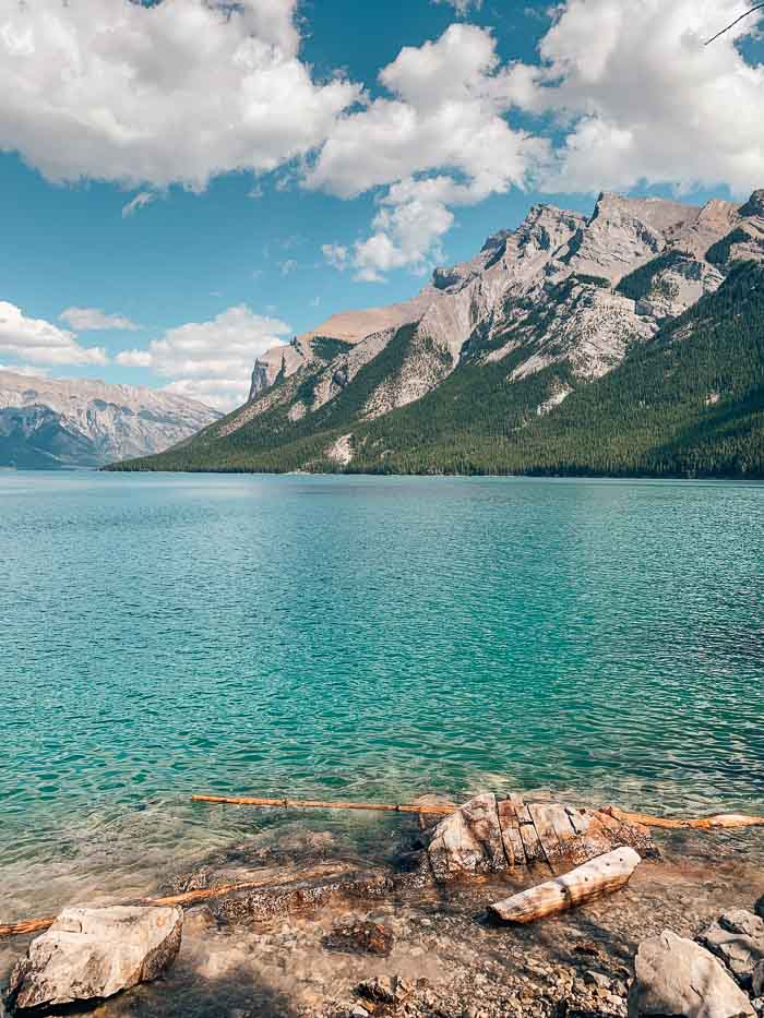 Lake Minnewanka - 4 days in Banff
