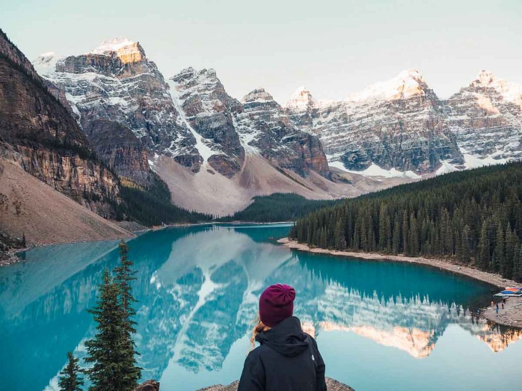 Moraine Lake - Best lakes around Banff, Alberta