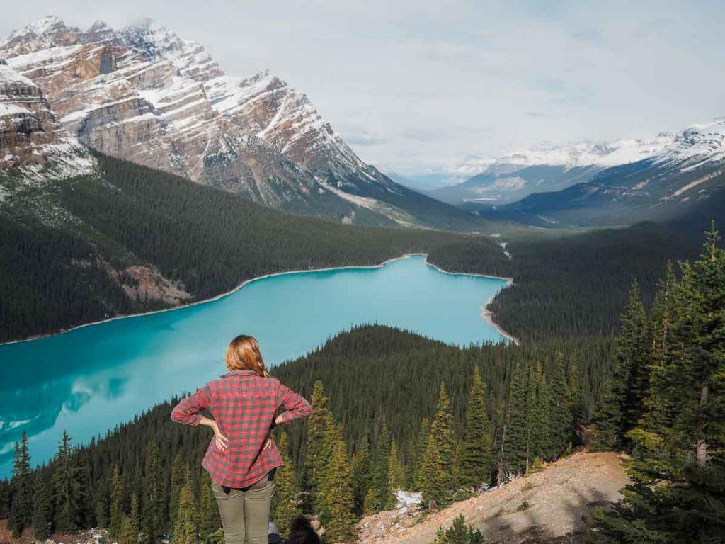 Peyto Lake - Best lakes around Banff