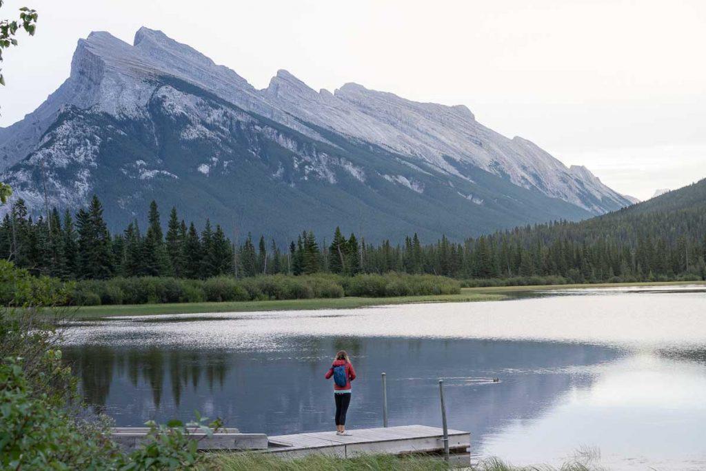 Vermilion Lakes - best lakes in Banff, Alberta