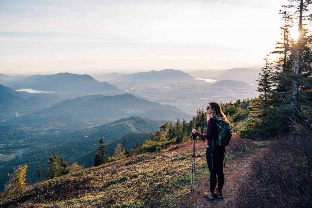 The summit of Elk Mountain, British Columbia