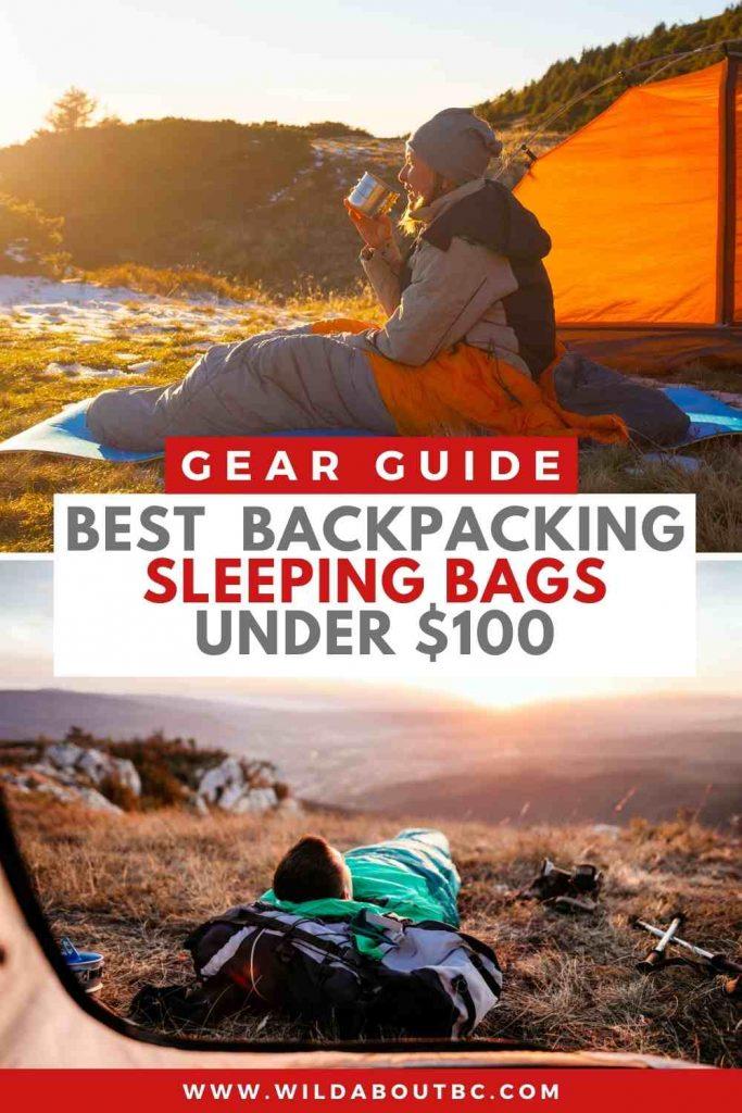 Best Backpacking Sleeping bags under $100