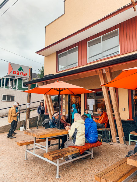 Base Camp Coffee in Powell River