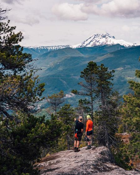 Shlanay Peak Trail in Squamish