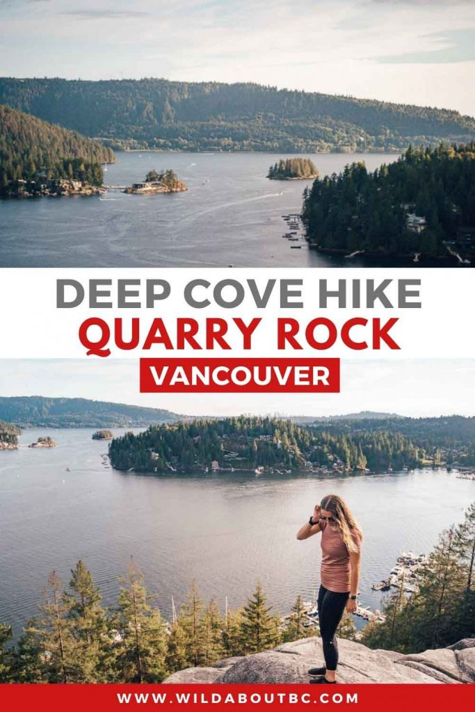 Quarry Rock Hike in Deep Cove Overview