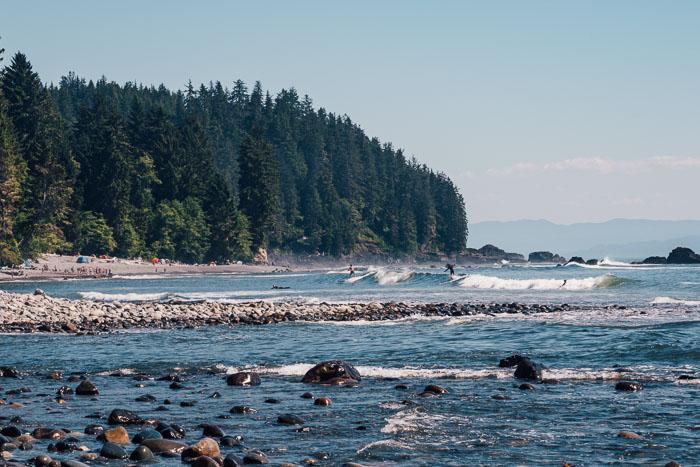 Sombrio Beach Surfing